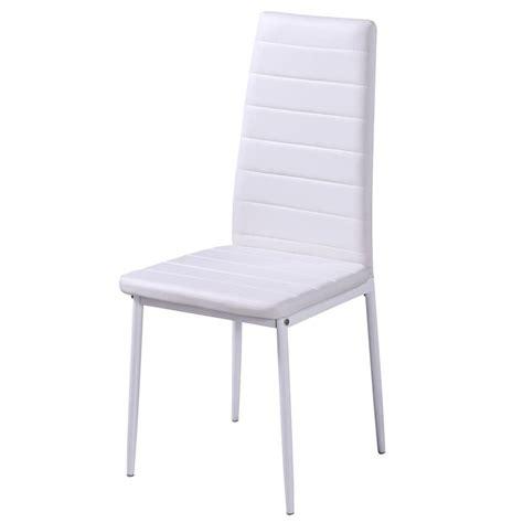 tavolo e sedie bianche articoli per set 4 sedie bianche da pranzo 1 tavolo con