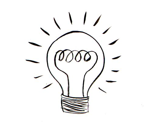 light bulb drawing clipart panda free clipart images