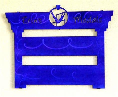 gymnastics medal display rack personalized gymnastics