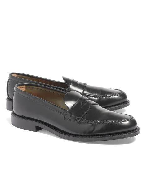 cordovan loafer brothers cordovan unlined loafers in black