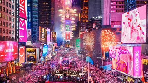 ダウンロード壁紙 1920x1080 ニューヨーク市 アメリカ 夜 幸せな新年 人でタイムズスクエア フルhd hd