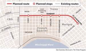 new orleans car route november 2016 trolleyville times