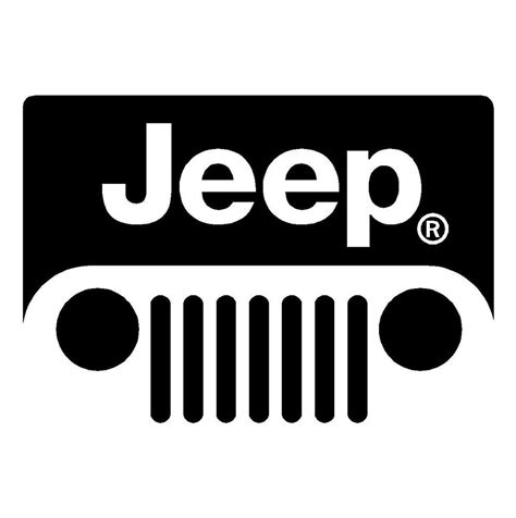 jeep wrangler logo decal jeep wrangler cj tj jk windshield grill emblem logo decal