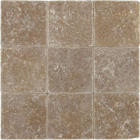 Travertine Patio Pavers Noce 12x12 Tumbled Travertine Pavers Tile