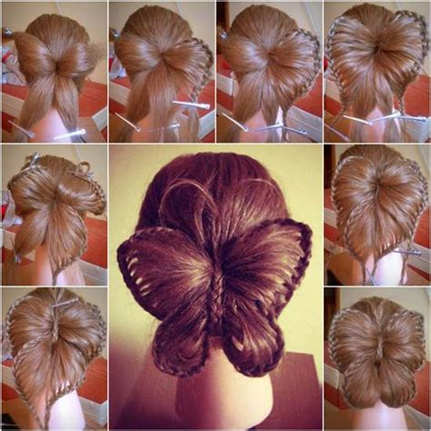 hairstyle ideas diy how to diy butterfly braid hairstyle
