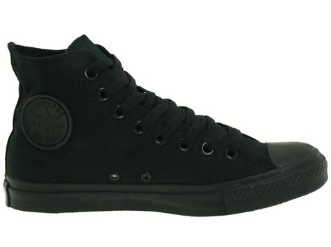 Converse Black Hight high top all black converse www imgkid the image