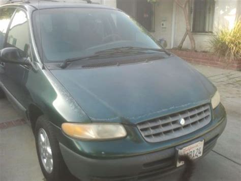 how do cars engines work 1998 plymouth grand voyager electronic throttle control buy used 1998 plymouth grand voyager se 3 3l needs work save a bundle in azusa california