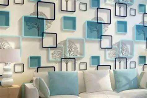 contoh dekorasi wallpaper dinding wallpaper  bata
