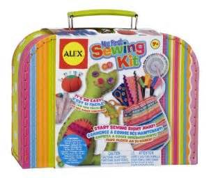 Amazon com alex toys craft my first sewing kit toys amp games