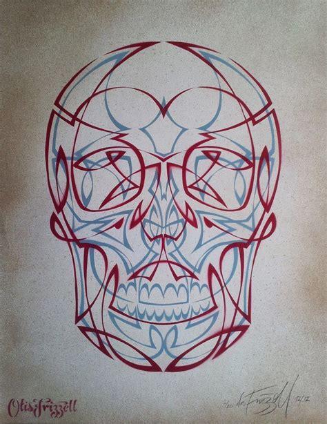 pinstriping tattoo designs pinstripe skull otis frizzell new zealand pinstriping