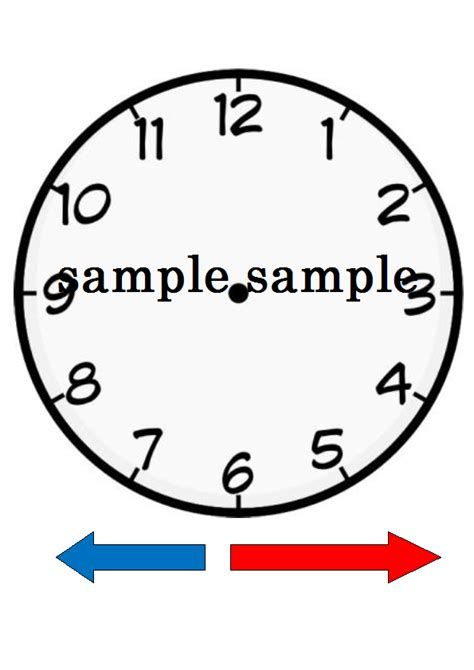 make your own clock template clock pictures for teachers cliparts co