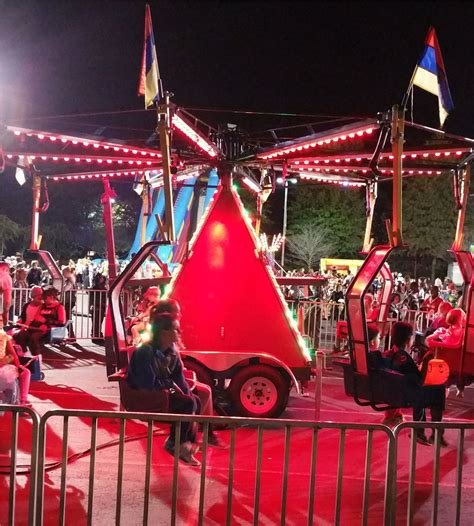 dixie swing carnival or mechanical rides