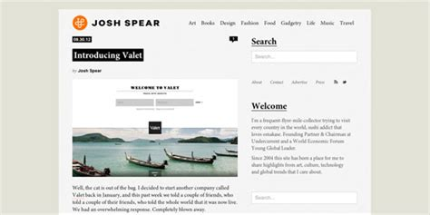 blog page layout design kiss a showcase of beautifully simple blog design noupe