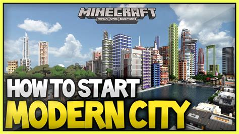 how to start to build a house minecraft best way to build start a modern city 2015