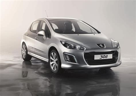 peugeot 2012 for peugeot 308 vti and turbo facelifted for 2012 from