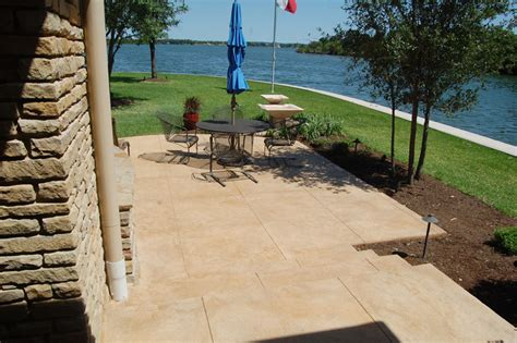 Concrete Patios San Antonio Tx by Patios Outdoor Living Sundek Concrete Coatings And