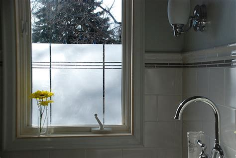 window film for bathroom one great idea window film aligned with tile apartment