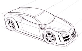 how to draw cars fast and easy learning how to draw a car in pencil step by step