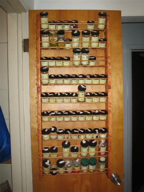 Mounted Spice Rack A Miscellany Spice Rack