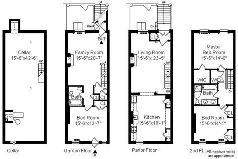 townhouse floor plans floor plans pinterest 412 sackett st single fam 2006 townhouse floor plans