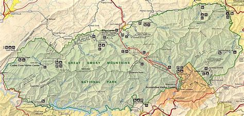 smoky mountain national park trail map great smoky mountains national park pictures