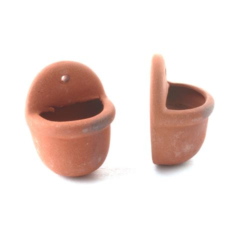 Curtains For Doors With Windows D2266 Terracotta Wall Pots Online Dolls House Superstore
