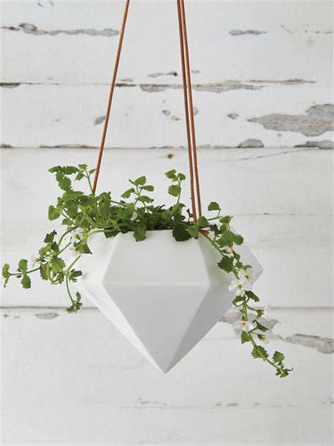 Hanging Planters Uk by Geometric Hanging Planter Large Nordic House