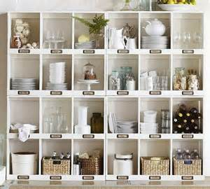 pottery barn shelving pottery barn shelves organization