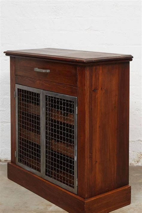 wine cabinets for sale wine cabinet with metal doors for sale at 1stdibs