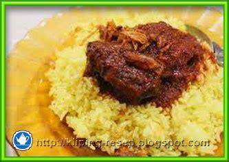 cara membuat nasi kuning khas banjar resep nasi kuning banjar masak habang ala chef agus
