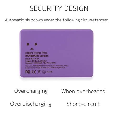 Power Bank Robot Smart Power robot power bank portable charger 10 050mah violet