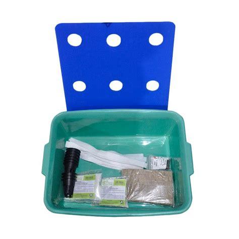 Starter Kit Hidroponik jual jirifarm paket starterkit hidroponik sistem wick 9