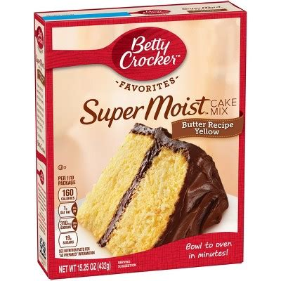 betty crocker cake mix recipes betty crocker supermoist cake mix butter recipe yellow