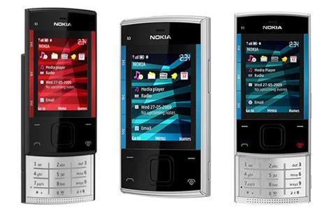 info ponsel handphone info nokia x3