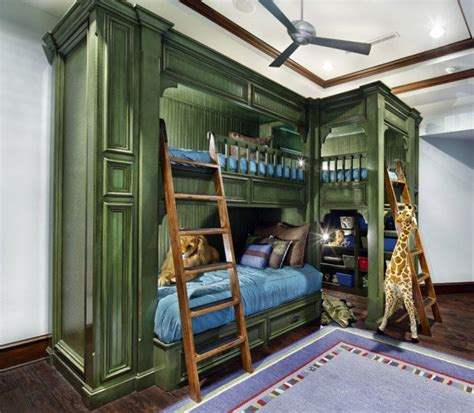 30 Cool And Playful Bunk Beds Ideas Awesome Bunk Beds For Boys