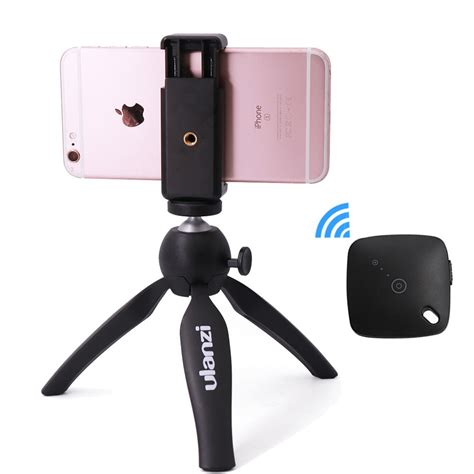 ulanzi mini tripod with holder mount selfie portable tabletop travel tripod for iphone