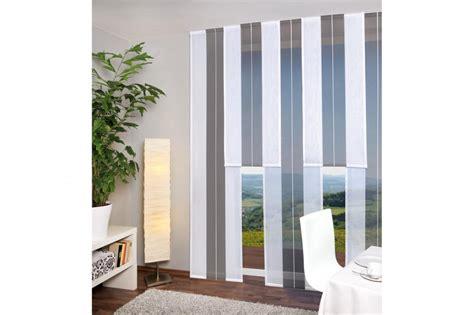 fertige gardinen kaufen fertige schiebegardine lillesund wei 223 anthrazit 245 x 60
