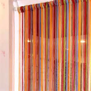 multi color curtains rainbow string curtain with multi color buy rainbow
