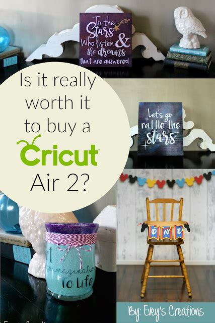 is it really worth it to buy a house evey s creations is it really worth it to buy a cricut air 2 what other tools will i