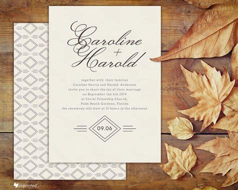 Etsy Template Wedding Invitation