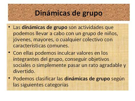 articulos gerza din micas de grupo e integraci n de dinamicas de grupo dinamicas para personas mayores trabajo