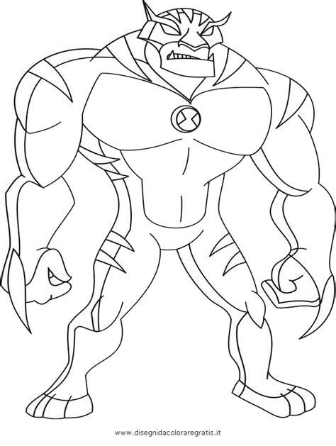 Disegno Ben10 033c Personaggio Cartone Animato Da Colorare Foto Ben 10 Coloring