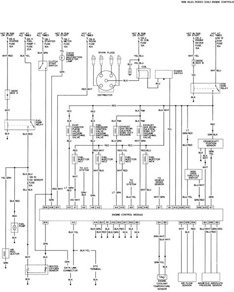 1993 isuzu truck wiring diagram wiring diagram