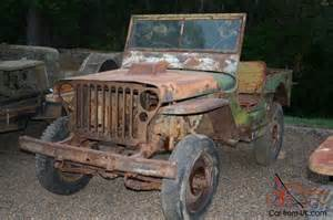 Ww2 Jeep For Sale Willys Jeeps For Sale On Ebay Html Autos Weblog