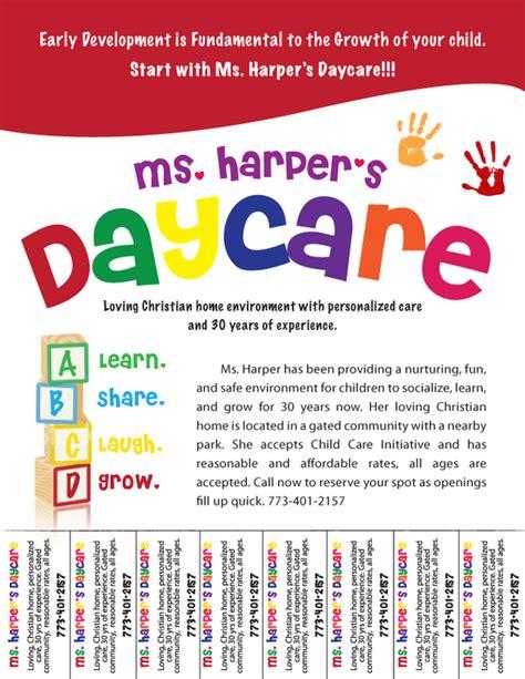 free daycare flyers follow lauren ashley barnes