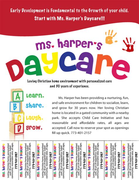 free daycare flyers   Follow Lauren Ashley Barnes