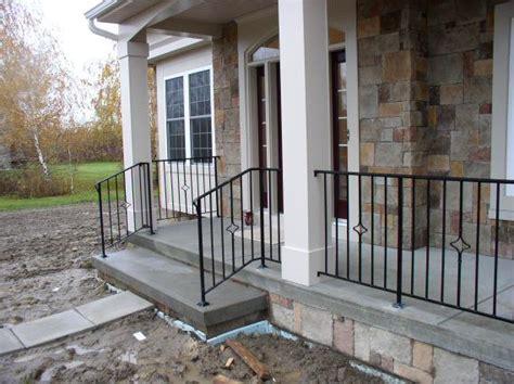 Iron Porch Railing Wrought Iron Porch Railings Custom Metal Wrought Iron