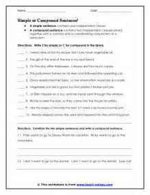 combine simple sentences to make compound sentences