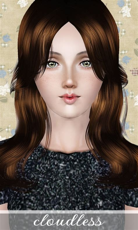 wing hairstyle cloudless hair at wings sims 3 sims 3 finds 166 sims 3
