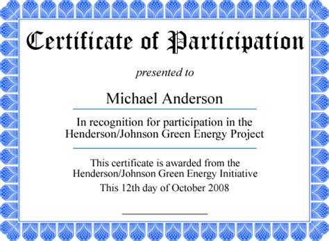 template for certificate of participation in workshop delli